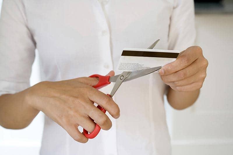 Get rid of your debit